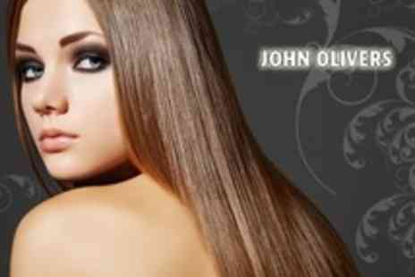 John Olivers - Cut and Blow Dry With KMS Conditioning Treatment - Save 25%