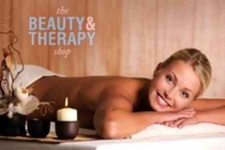The Beauty and Therapy Shop - Full Body Massage With Facial - Save 24%