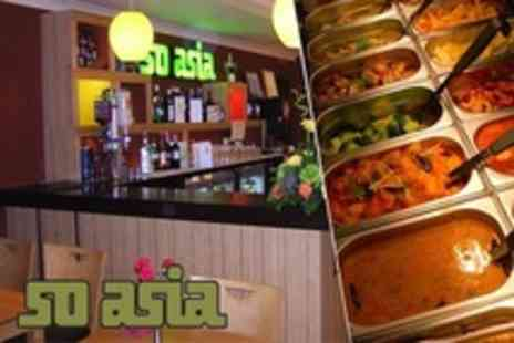 So Asia - Asian Buffet With Jasmine Tea - Save 53%