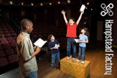 Hampstead Factory - Childrens Film Acting Workshop - Save 50%