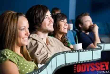 Odyssey Cinema Belfast - 2D and 3D Cinema Tickets for All Films Shown - Save 44%