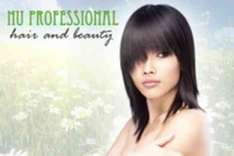 Nu Professional Hair and Beauty - Wash, Cut and Finish  - Save 64%