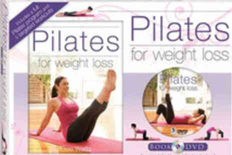 The Book Stalk - Pilates Weight Loss DVD Pack - Save 54%