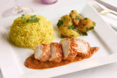 Nila Palace - Indian meal for 2 inc poppadums mains and coffee - Save 52%