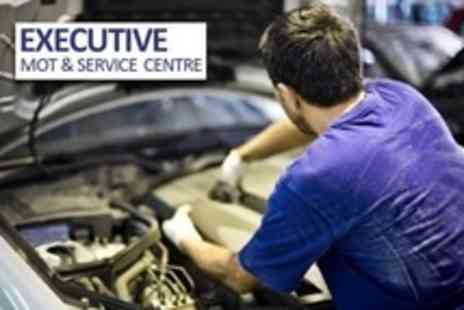 Executive MOT and Service Centre - 52 Point Vehicle Check With Oil and Filter Change Plus Pick Up and Drop - Save 84%