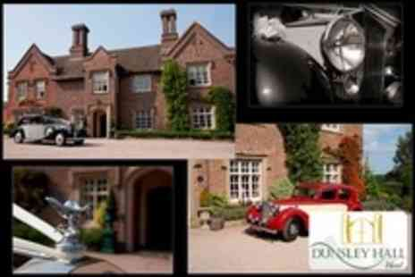 Dunsley Hall Hotel - One Night Stay For Two With Three Course Meal and Breakfast - Save 50%