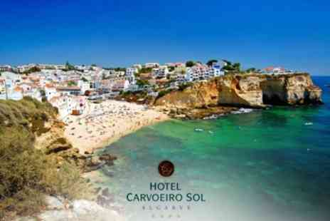 Hotel Carvoeiro Sol - Seven Night Algarve Break For Two at the 4* Hotel Carvoeiro Sol - Save 50%