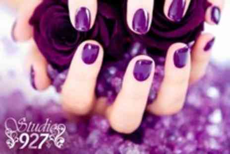 Studio 927 - Deluxe Manicure Pedicure - Save 71%