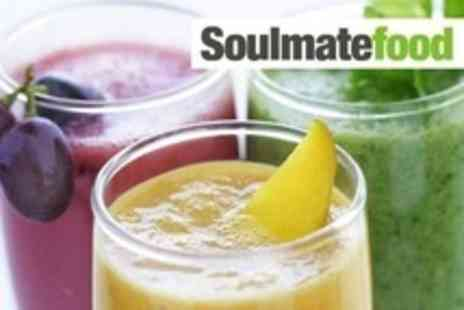 Soulmatefood - Juice Cleanse Programme - Save 60%