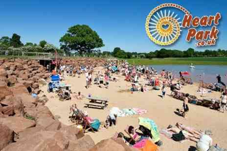 Heart of England - Family Day Out With Manmade Beach, Trampolines and a Bouncy Kingdom - Save 64%