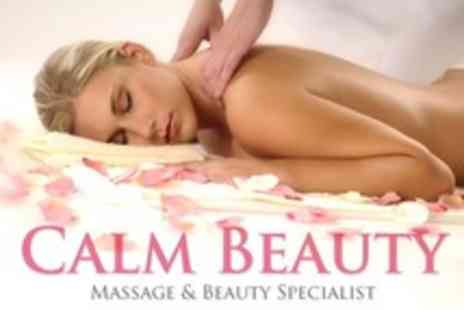 Calm Beauty - Choice of Massage Including Swedish - Save 27%