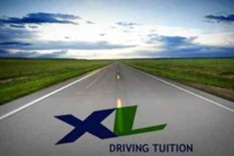 XL Driving Tuition - Eight Hours of Driving Tuition Plus Theory Test Training - Save 51%