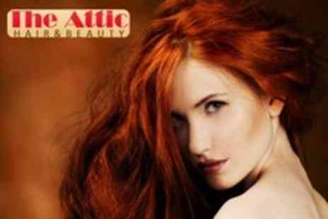 The Attic Hair Design - Cut, Conditioning Treatment and Blow Dry - Save 61%