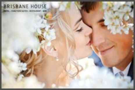 Brisbane House Hotel - Platinum Wedding Package With Four Course Meal For 100 Guests - Save 62%