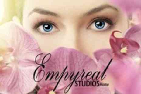 Empyreal Studios - Dramatic Semi Permanent Lashes or Natural Extensions - Save 51%