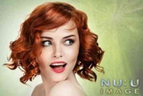 Nu:u Image - Half Head Highlights or Full Head Colour With Cut and Blow Dry - Save 50%
