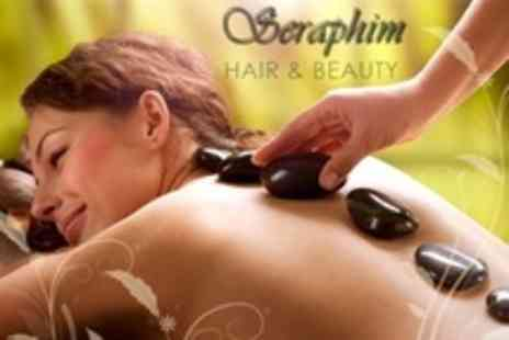 Seraphim Hair - 60 Minute Package with Massage, Facial or Manicure Combo - Save 75%
