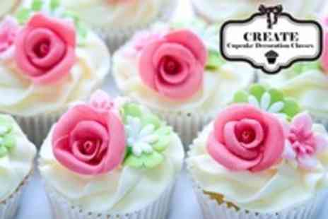 Create - Cupcake Decorating Class For One - Save 51%
