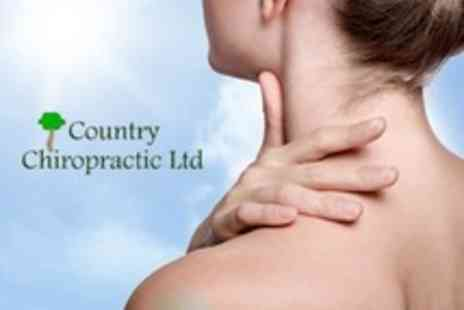 Country Chiropractic - Chiropractic with Consultation, Examination X Rays and Findings for One - Save 64%