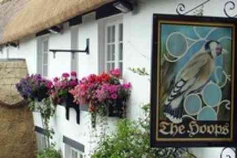 The Hoops Inn - Two Night Stay For Two With Breakfast - Save 51%