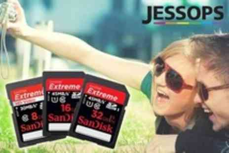 Jessops - SanDisk Extreme Memory Card Including Delivery - Save 85%