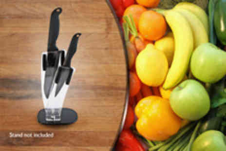 The Ceramic Experience - 3 and 4 ceramic knife set - Save 50%