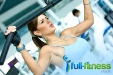 Full Fitness - Ten Gym Day Passes - Save 33%