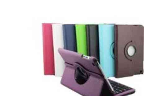 Gal Cochrane - iPad 2 or iPad Mini Rotating Keyboard Case - Save 53%