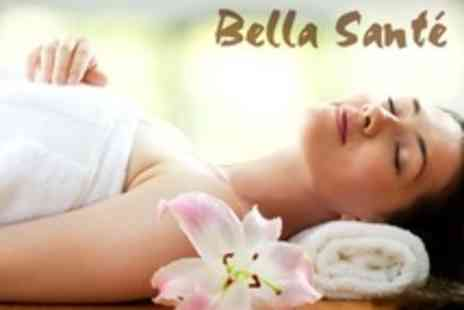 Bella Sante - Pamper Package Including Facial, Massage, Manicure, Pedicure and Eyebrow Wax - Save 67%