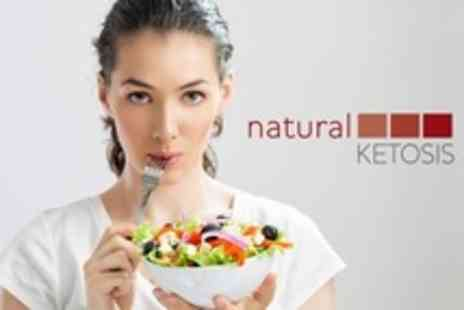Natural Ketosis - 28 Day Low Carb Eating Plan With Food and Recipes - Save 67%
