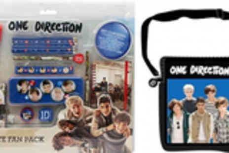 SVB Trading - One Direction School Bag Back to school Ultimate Stationery Pack - Save 51%