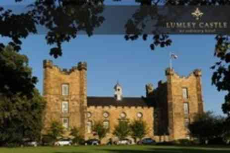 Lumley Castle Hotel - One Night Stay For Two With Breakfast and Bottle of Wine - Save 11%