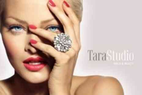Tara Studio Nails and Beauty - Luxury Facial With Eyelash Tint and Eyebrow Wax and Tint Plus Manicure - Save 78%