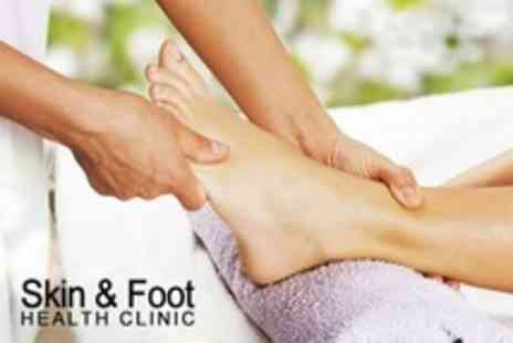 Skin and Foot Health Clinic - Foot Care Pedicure Treatment or Reflexology Session - Save 60%