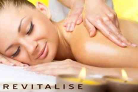 Revitalise - Choice of Two Beauty Treatments Such as One Hour Massage and Shellac Mani Pedi - Save 72%