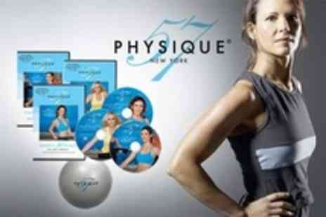 Home Shopping Mall - Physique 57 Workout DVD Set - Save 71%