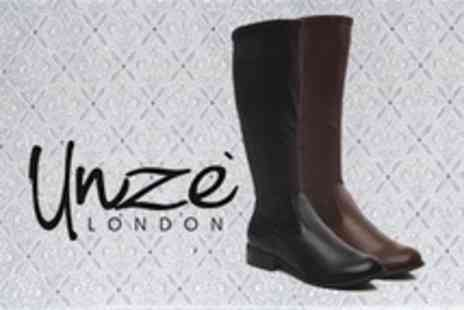 Unze.co.uk - Ladies Knee High Boots in Choice of Styles - Save 60%