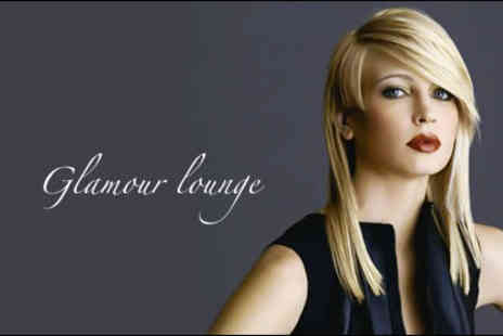 Glamour Lounge - £15 for a full head of colour and a cut and blow dry, plus a conditioning treatment worth £52 - Save 71%