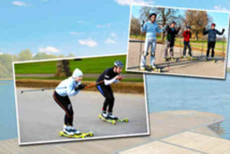 Rollerski - Two hour rollerski session with Rollerski - Save 50%