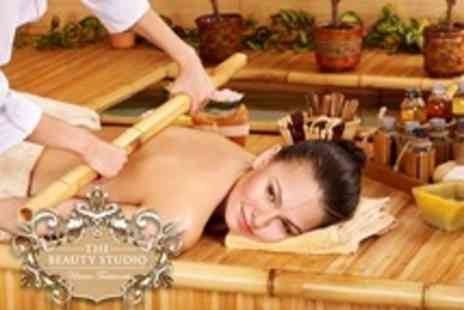 The Beauty Studio - Warm Bamboo Massage Plus Express Facial - Save 30%