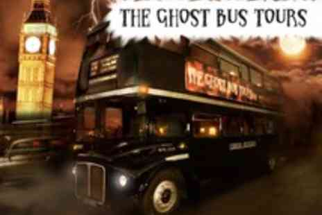 The Ghost Bus Tours - Take a ride to the dark side on Londons Fright Bus - Save 54%