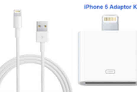 EDDProducts - iPhone 5 adaptor kit intelligent adapter & connect your 30 pin accessories - Save 76%