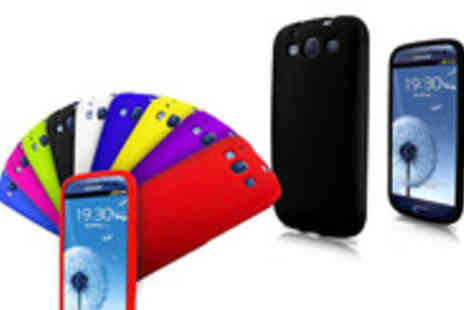My Touch Screen - Protect your beloved smartphone with a pack of 4 Samsung S3 Silicone Cases - Save 55%