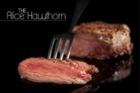 The Alice Hawthorn - British Fare With Prosecco For Two - Save 68%