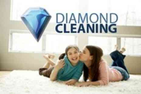 Diamond Cleaning - Carpet Cleaning For Two Plus Hallway or Stairs - Save 42%