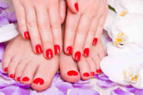 Salon Le Bon - A gel manicure or pedicure - Save 76%