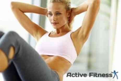 Active Fitness - 12 Week Fitness Programme - Save 87%