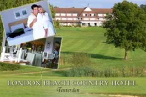 London Beach Country Hotel - One Night Stay For Two With Two Course Meal and Breakfast - Save 53%