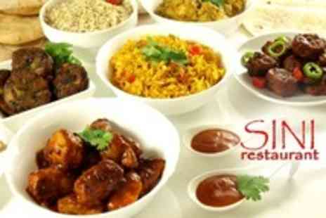 Sini Restaurant - Assortment of Turkish Meze Dishes With Traditional Turkish Coffee For Two - Save 64%