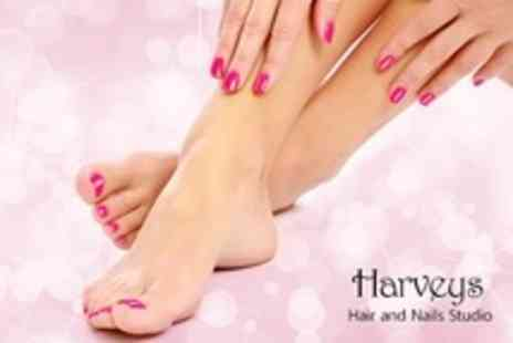 Harveys Hair - Shellac Manicure or Pedicure - Save 40%